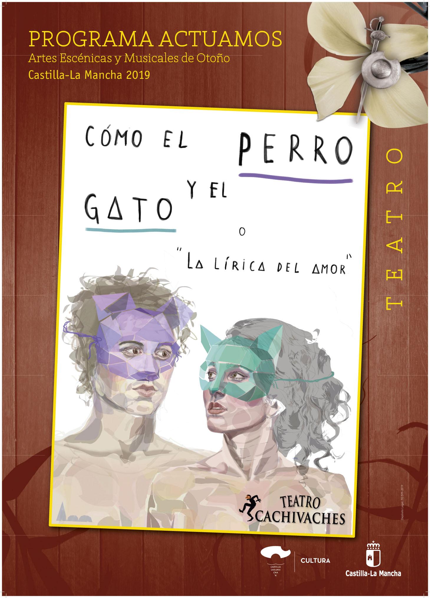 """Resultado de imagen de COMO EL PERRO Y GATO CACHIVACHES TEATRO POTOÑO"""""""